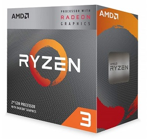 AMD Ryzen 5 3200G 4コア4スレッド