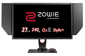 ZOWIE XL2746S (フルHD/240Hz/TN/DyAc+)