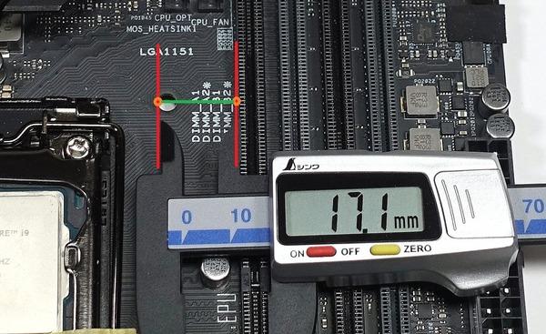 RAM-Space_Intel LGA1151_ASUS WS X390 PRO