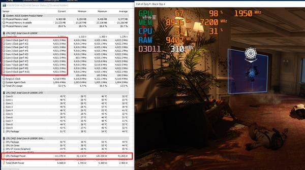 Intel Core i9 10900K_Game-Clock