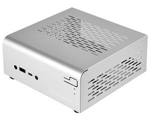 SilverStone Vitalシリーズ Mini-STXフォームファクター VESA/Wallマウント シルバー SST-VT01S 日本正規代理店品