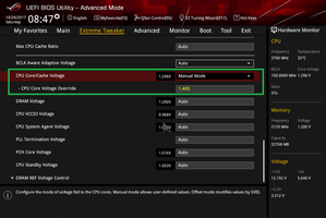 Core i7 8700K 5.1GHz OC BIOS Setting_4