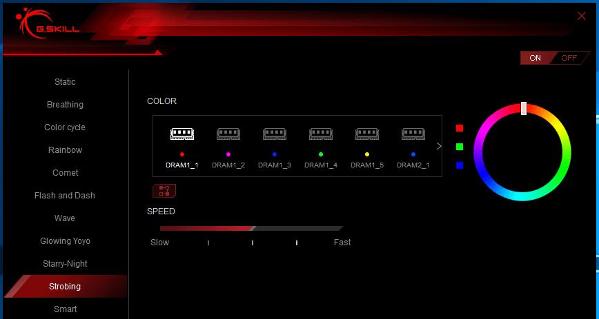 Trident Z RGB Control_Starry-Night