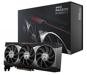AMD Radeon RX 6800 XT リファレンスモデル