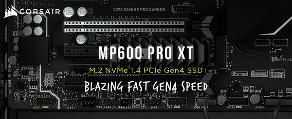 Corsair MP600 PRO XT_top