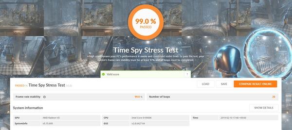 3DMark TimeSpy Stress Test