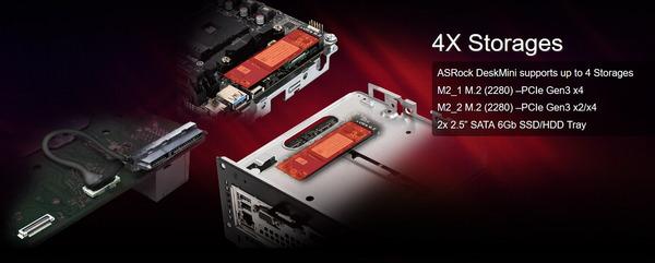 ASRock DeskMini X300_Storage
