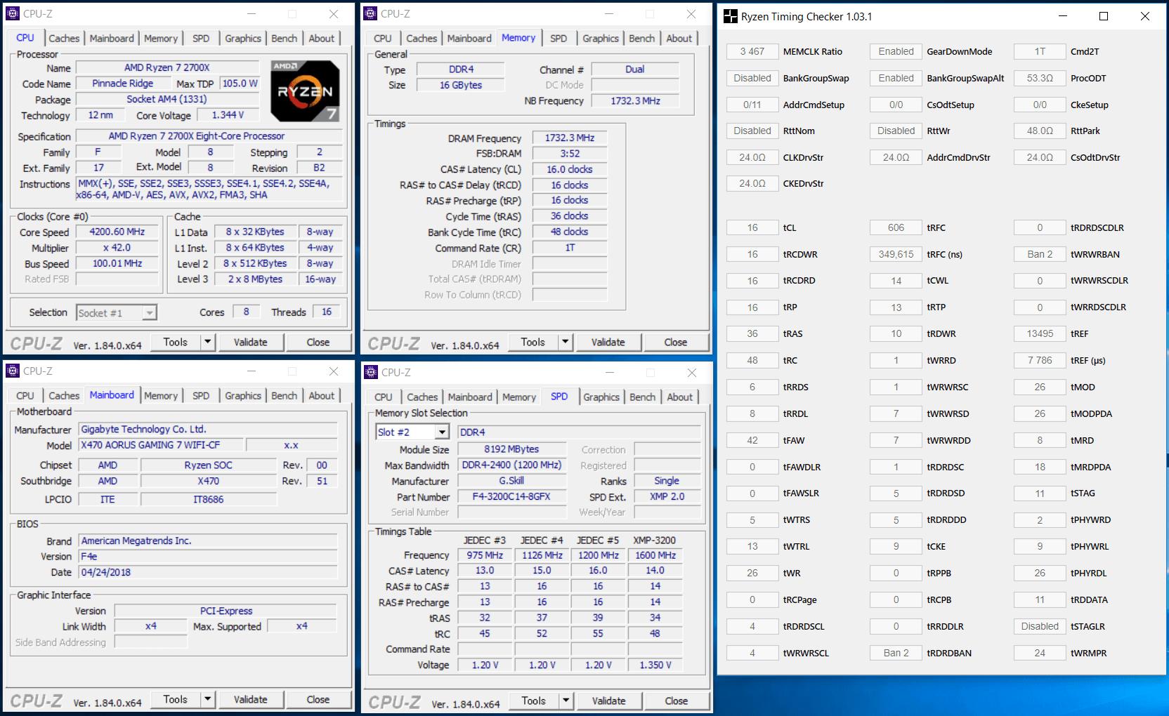GIGABYTE X470 AORUS GAMING 7 WIFI_OC Test_mem_1
