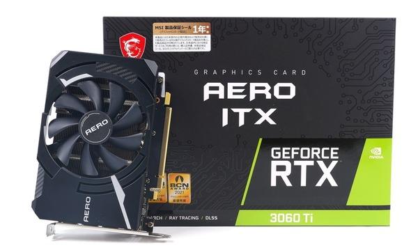 MSI GeForce RTX 3060 Ti AERO ITX OC LHR