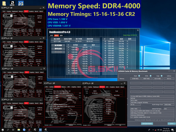 G.Skill Trident Z_4000MHz_CL15_AMD