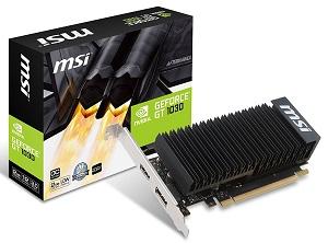 MSI GT 1030 2GH LP OC