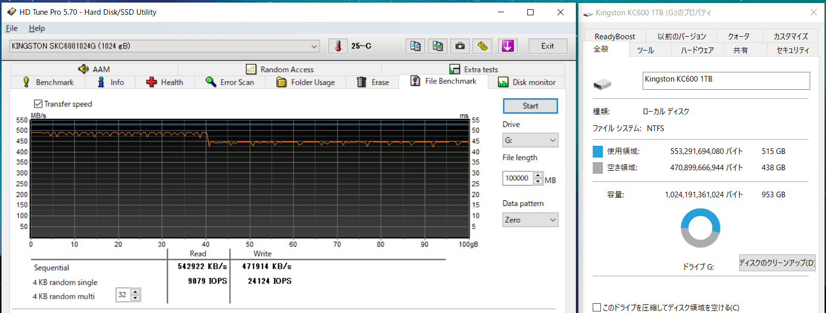 Kingston KC 600 1TB_HDT_500GB-Fill