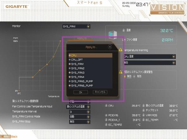 GIGABYTE B550 VISION D_BIOS_Fan_7