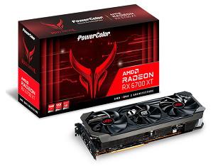 PowerColor Red Devil AMD Radeon RX 6700XT 12GB GDDR6