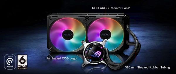 ASUS ROG STRIX LC II 280 ARGB_spec