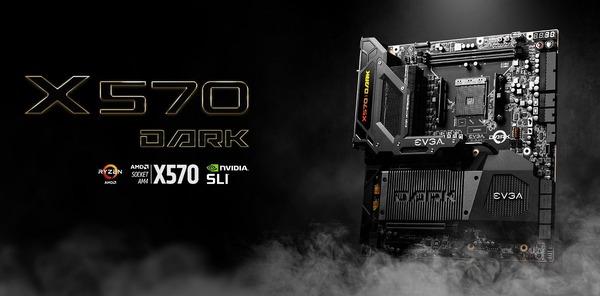 EVGA X570 DARK_top