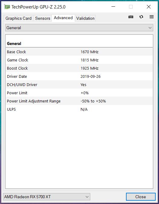 SAPPHIRE NITRO+ Radeon RX 5700 XT_quiet_GPU-Z (2)