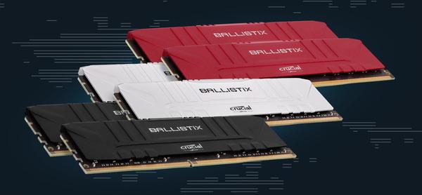 Crucial Ballistix DDR4