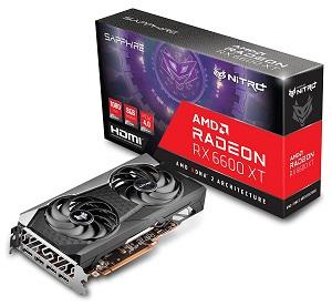 SAPPHIRE NITRO+ Radeon RX 6600 XT OC