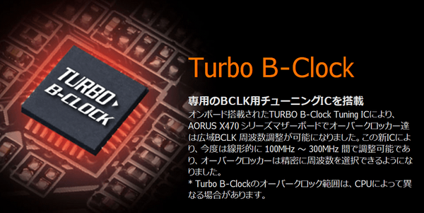 Turbo-B Clock