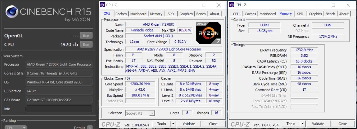 ASRock X470 Taichi_OC test_cine