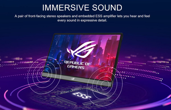 ASUS ROG Strix XG16AHP_Audio