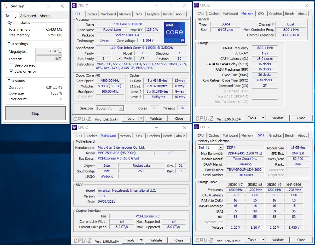 TF13D432G3600HC14CDC01_x2_Intel Z590 3600C16