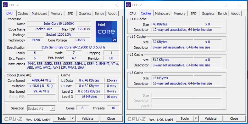 G-Master Hydro Z590_Core i9 11900K_CPU-Z
