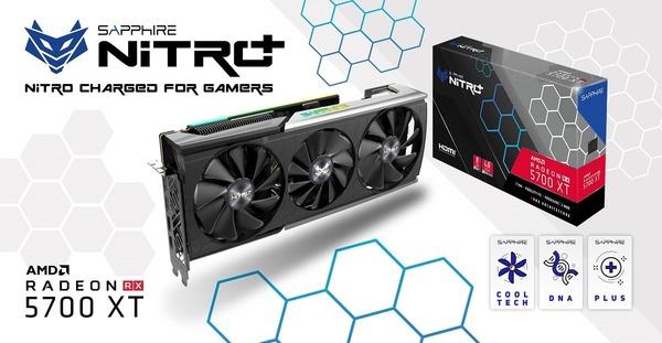 SAPPHIRE NITRO+ Radeon RX 5700 XT_top