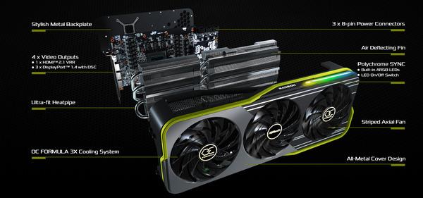 ASRock Radeon RX 6900 XT OC Formula 16GB_spec