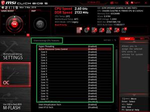 MSI X299 XPOWER GAMING AC_BIOS_OC_14