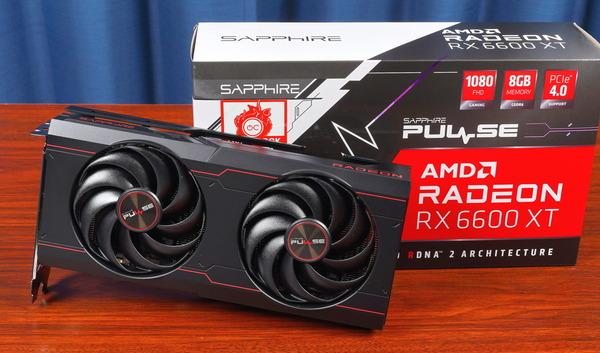 SAPPHIRE PULSE AMD Radeon RX 6600 XT 8GB GDDR6