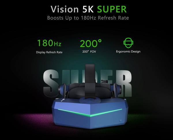 Pimax Vision 5K Super_top