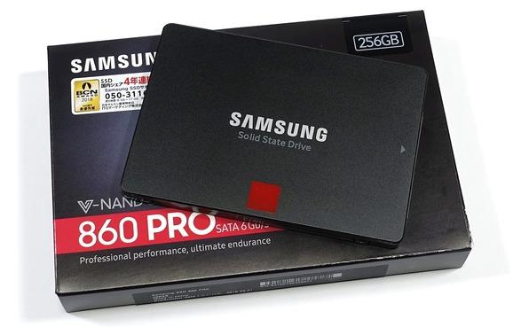 Samsung SSD 860 PRO 256GB