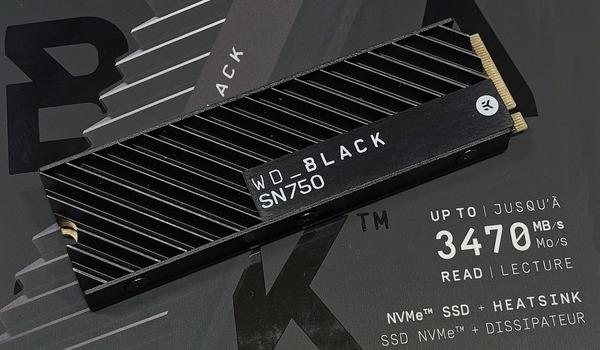 WD Black SN750 NVMe SSD 1TB HS