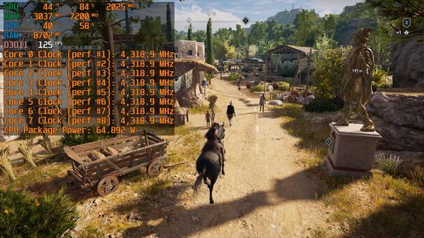 Intel Core i7 10700F_game-clock_ACOD_PL-65W