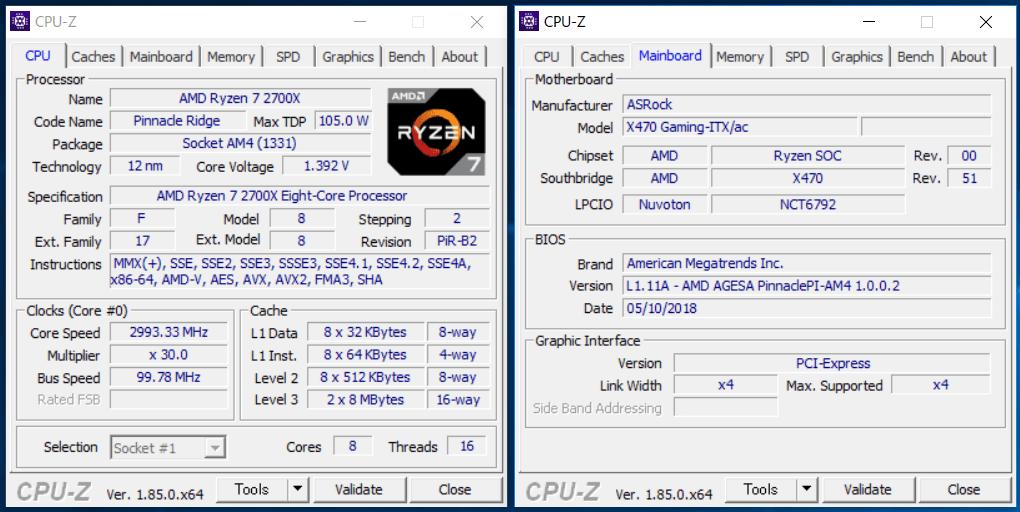 ASRock Fatal1ty X470 Gaming-ITX_ac_OC test_1