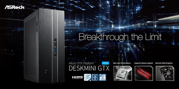 ASRock DeskMini GTXRX Series Z370
