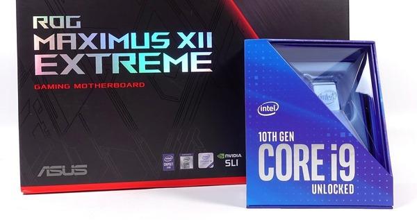 Intel第10世代Comet Lake-Sのレビュー記事一覧へ