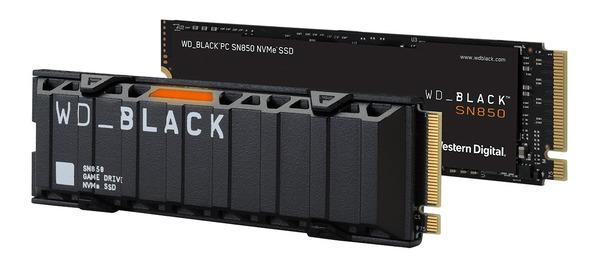 WD_BLACK SN850 NVMe SSD_heatsink