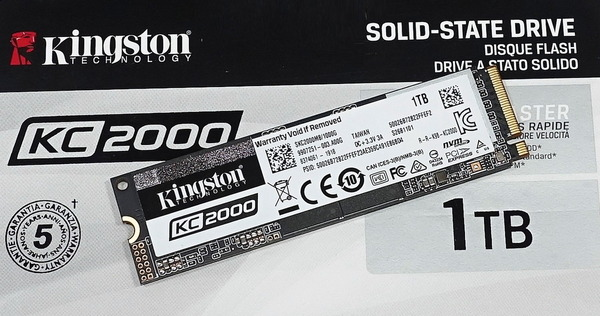 Kingston KC2000 1TB