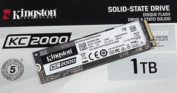 Kingston KC2000 1TB