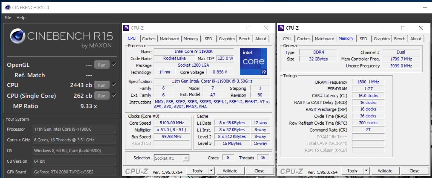 Intel Core i9 11900K_PL-125W_CinebenchR15