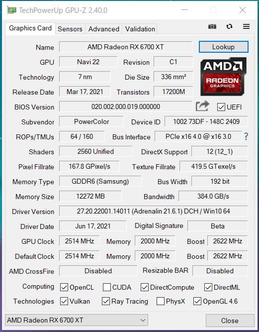 PowerColor Red Devil Radeon RX 6700 XT_OC_GPU-Z (1)