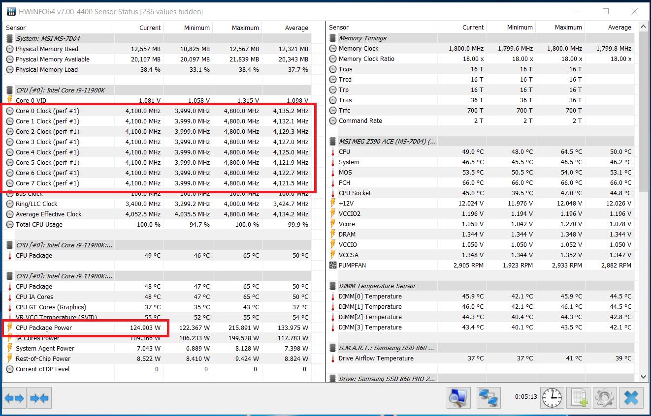 Intel Core i9 11900K_Boost-Clock_multi_PL1