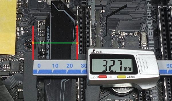 PCIE-Space_AMD AM4_ASUS ROG CROSSHAIR VII HERO