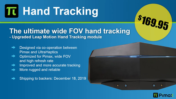 Pimax hand Tracking