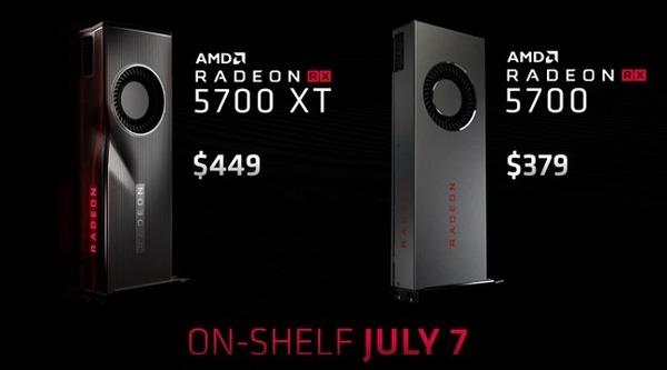 AMD Radeon RX 5700 Series