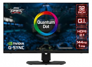 MSI Optix MPG321UR-QD (4K/144Hz/IPS/HDMI2.1)