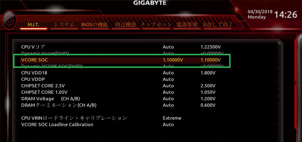 GIGABYTE X470 AORUS GAMING 7 WIFI_BIOS_OC_20